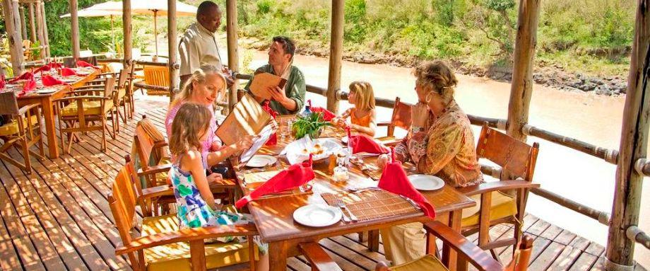 Family safari in the Masai Mara