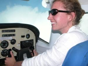Alexandra Matts on Safari in Tanzania
