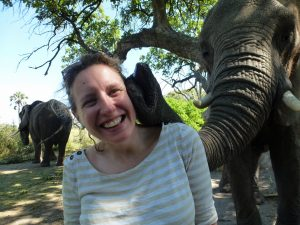 Elephant Kiss, Botswana