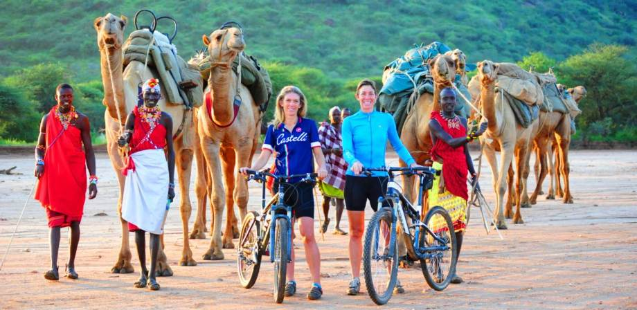 Mountain Biking safari in Kenya with Karisia