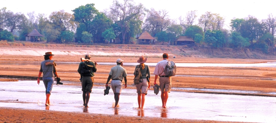 Walking Safari in Zambia with Robin Pope Safaris