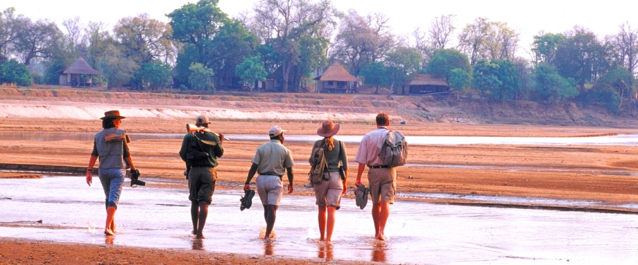 Walking Safari in Zambia with Robin Pope Safaris