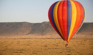 Hot Air Balloon Safari, Masai Mara