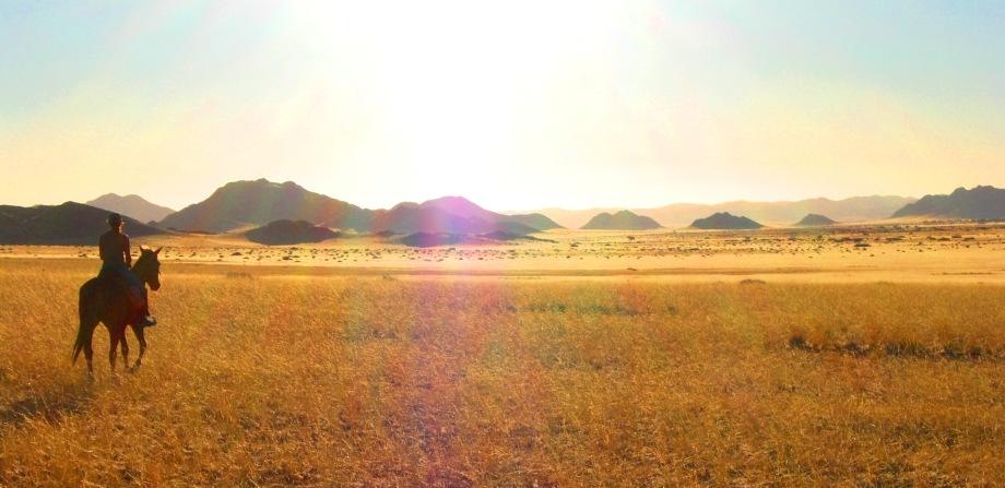 Riding Safari in Namibia