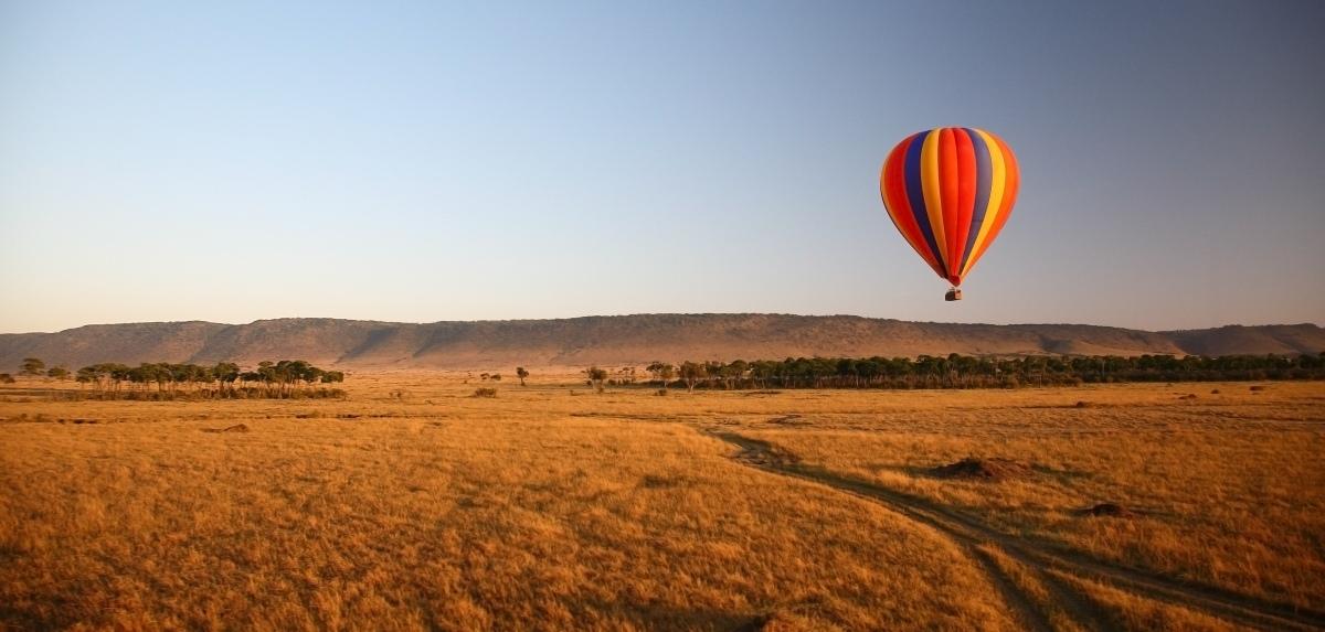 Hot Air Balloon Safari, Masai Mara, Kenya