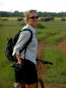 Mountain Biking with Elephants