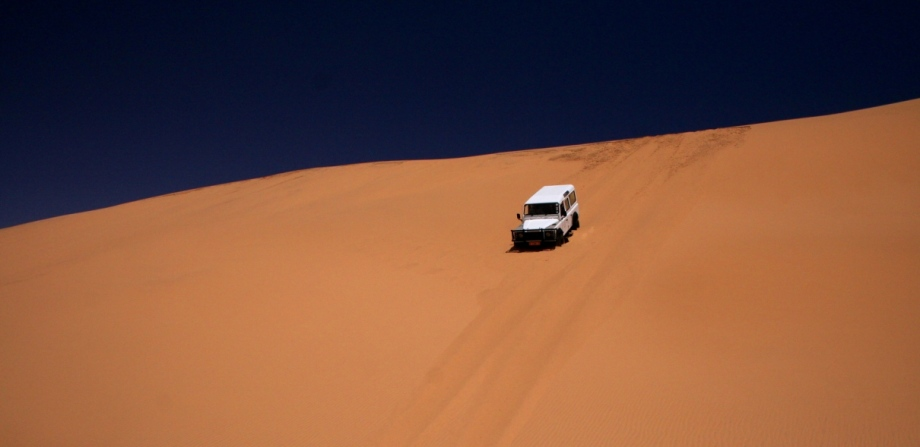 Adventurous honeymoon in Namibia