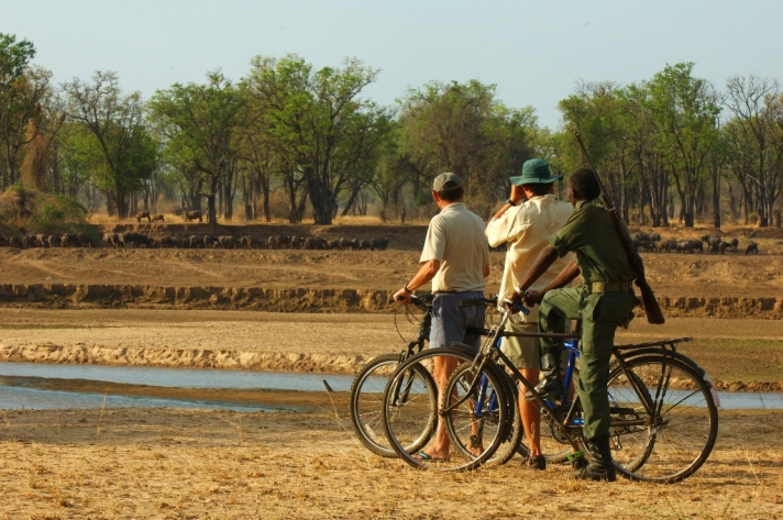 Mountain Bike Safari from Tafika, Zambia