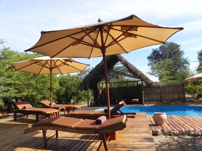 Swimming Pool at Selous Impala Camp