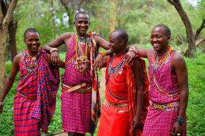Masai Morans in Kenya