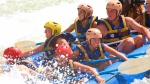 White water rafting at Jinja