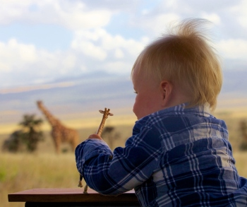 Family safari at Lewa Safari Camp