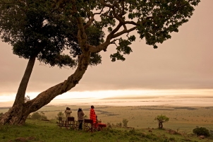 Luxury safari at Sanctuary Olonana