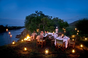 Luxury safari at Olonana Camp
