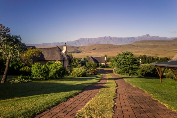 View of Montusi Mountain Lodge