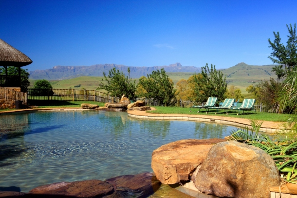 Montusi Mountain Lodge Pool