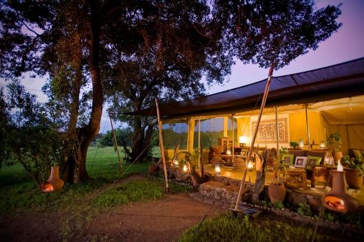Kicheche Mara Camp by Night