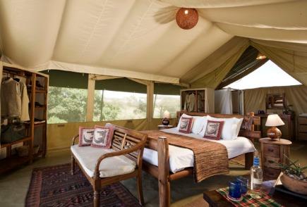 Safari Tent at Kicheche Mara Camp