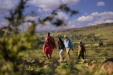Walking Safari from Kicheche Masai Mara