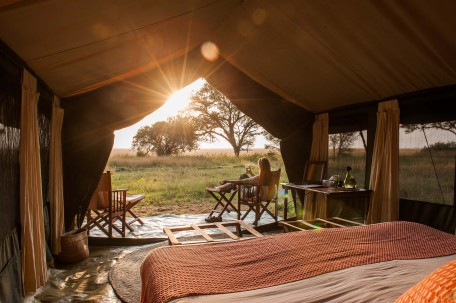 Tent at Serengeti Safari Camp