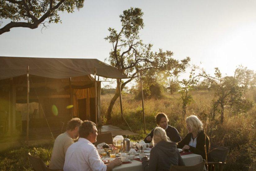 Lunch at Serengeti Safari Camp