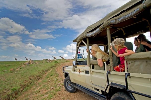 Family Safari in Kenya