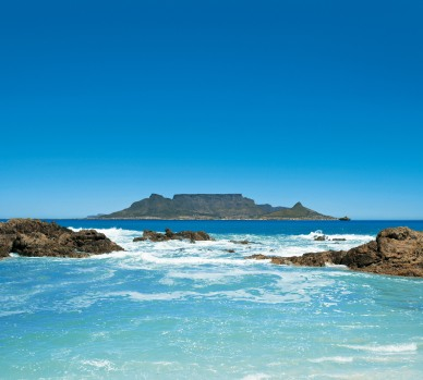 Cape Town from the Sea