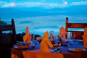 Dining Room at the Ngorongoro Serena