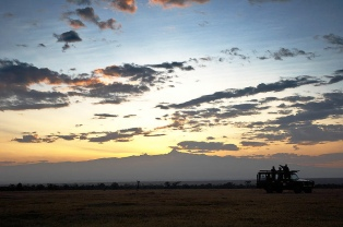 Sunset game drive at Kicheche Laikipia