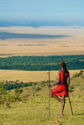 Maasai Moran at Kichwa Tembo Masai Mara