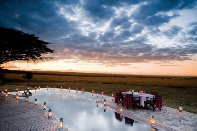 Dinner at Kichwa Tembo Masai Mara