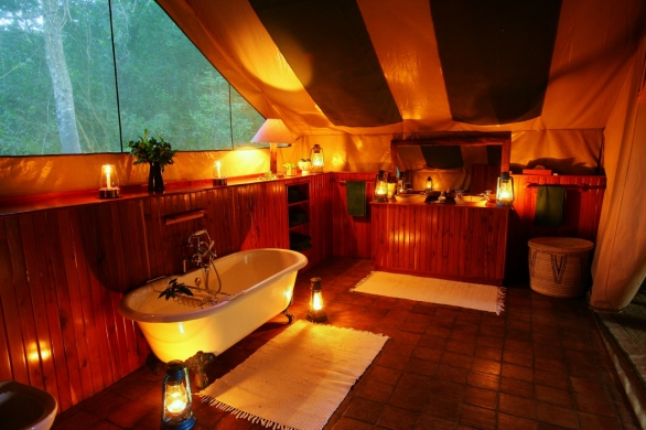 Bathtub at Il Moran Masai Mara