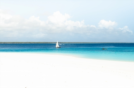 Beach at Mnemba Island Lodge