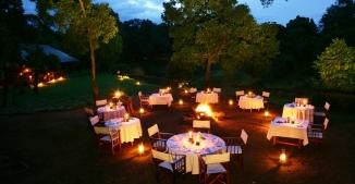 Dinner at Il Moran Masai Mara
