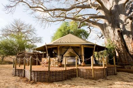 Safari tent at Swala Tarangire