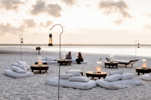 Sundowners at Mnemba Island Lodge