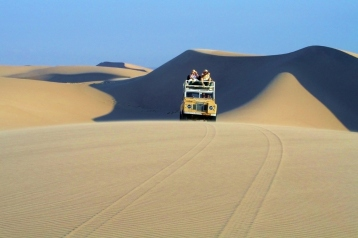 Driving with Skeleton Coast Safaris