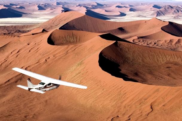 Flying with Skeleton Coast Safaris