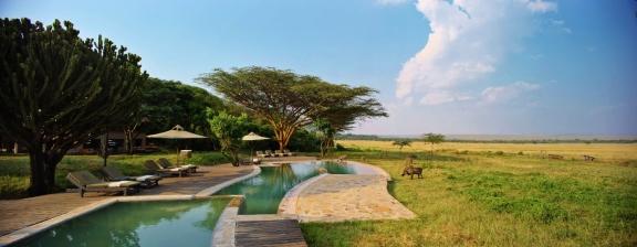 Pool at Kichwa Tembo Masai Mara