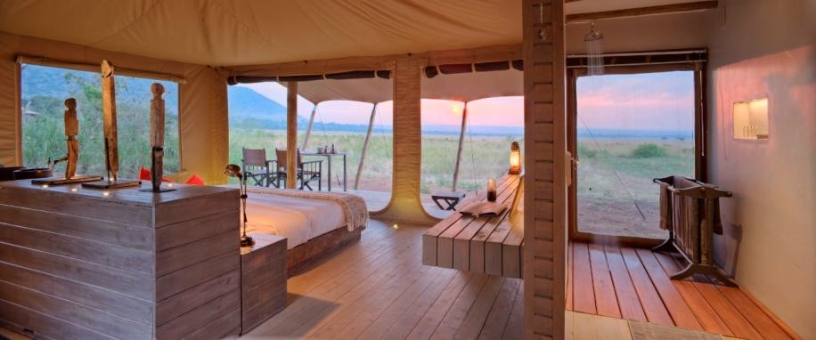 Tented Suite at Kichwa Tembo Masai Mara