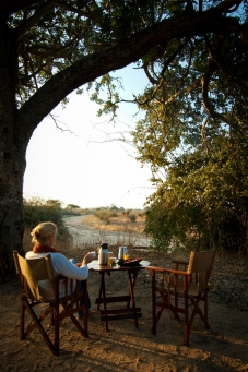 Coffee at Kigelia Ruaha