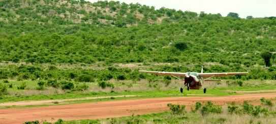 Flying to Kwihala Ruaha
