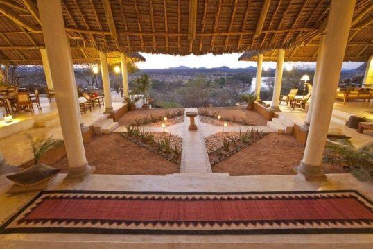 Main Lodge at Sasaab