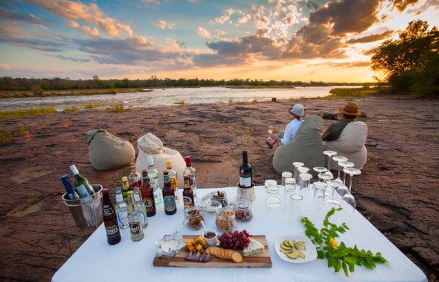 Sundowners at Azura Selous