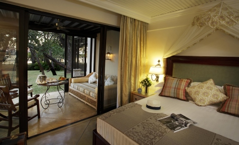 Room at the Royal Livingstone, Victoria Falls