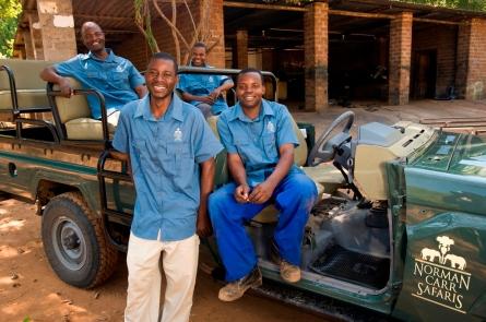 Staff at Kapani