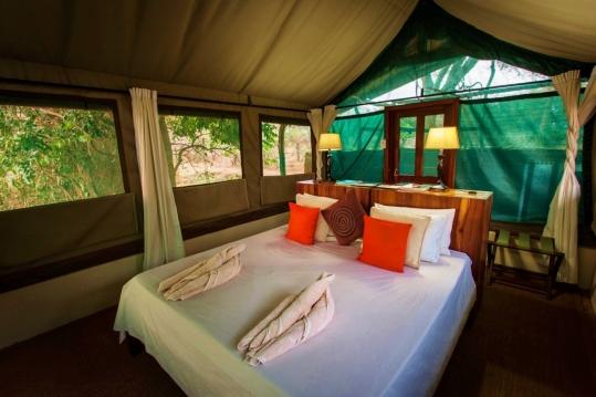 Tent at Chongwe River Camp