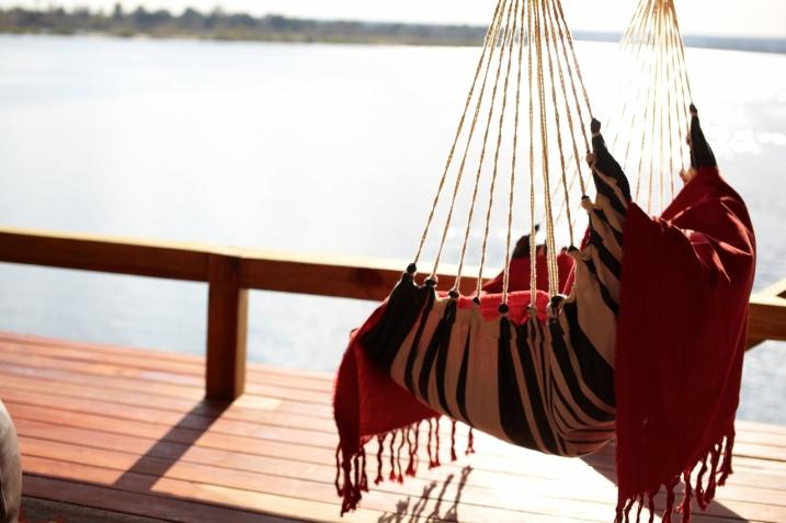 Relaxing at Tongabezi