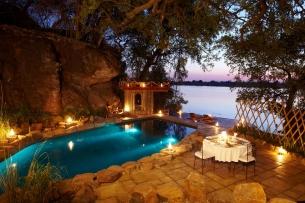 Pool at Tongabezi