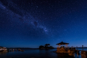 Night sky at Kaya Mawa